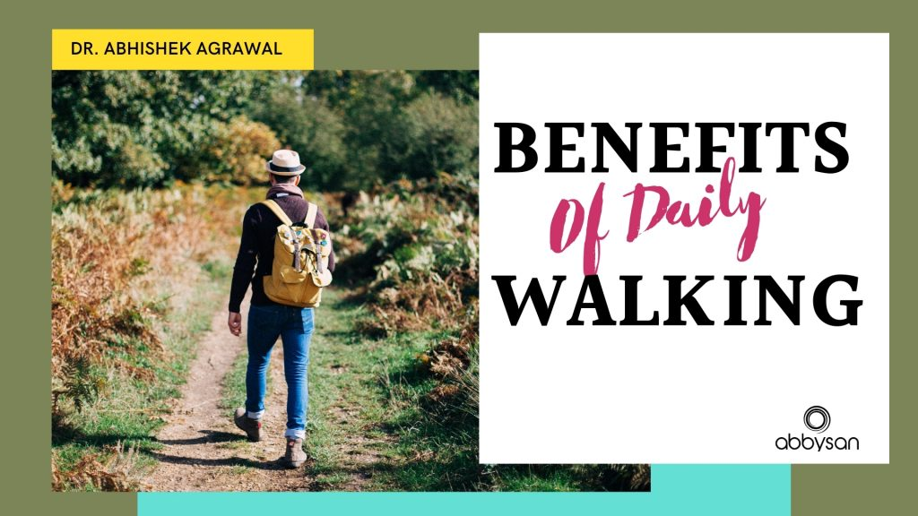 Real benefits of daily walking